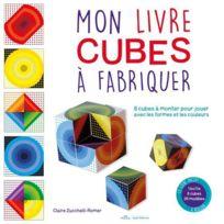 Mila - mon livre cube à fabriquer ; 8 cubes à monter pour jouer avec les formes et les couleurs
