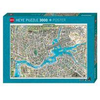 Heye - Puzzle 3000 pièces : City of pop