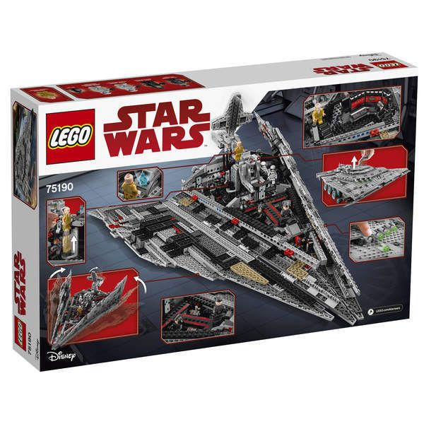 Lego - Star Wars - 75190-First Order Star Destroyer