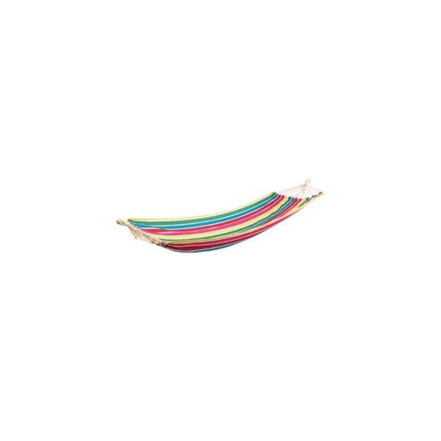 toile de hamac mod le yaqui 200 x 80 cm multicolore. Black Bedroom Furniture Sets. Home Design Ideas