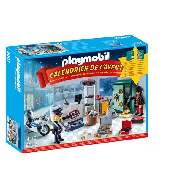 Calendrier De L Avent Playmobil Pas Cher.Christmas Calendrier De L Avent Policier Et Cambrioleur 9007