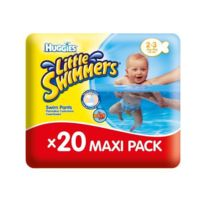 Huggies - couches Maxi Pack x20 Little Swimmers Taille 2/3