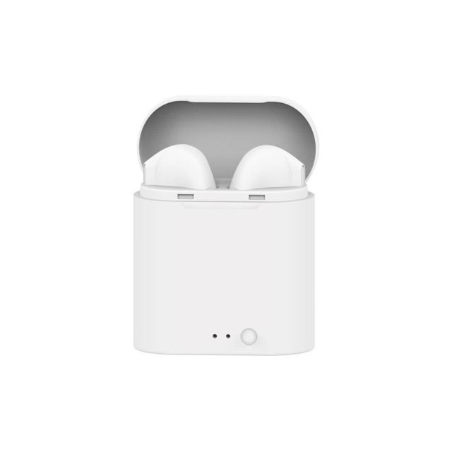 dealstore i7s mini tws ecouteurs intra auriculaire bluetooth avec bac de chargement blanc pas. Black Bedroom Furniture Sets. Home Design Ideas