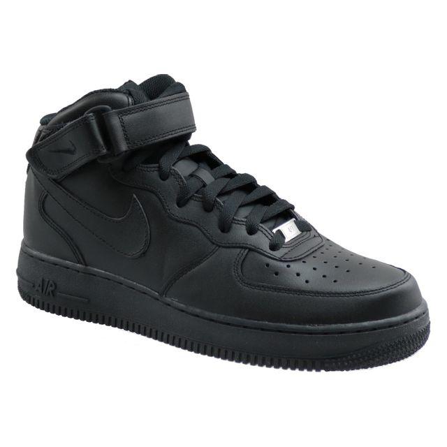 chaussures de séparation b0626 96539 Nike - Air Force 1 Mid 07 315123-001 Noir - pas cher Achat ...