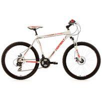 Ks Cycling - Vtt semi rigide 26'' Lightbolt blanc Tc 51 cm