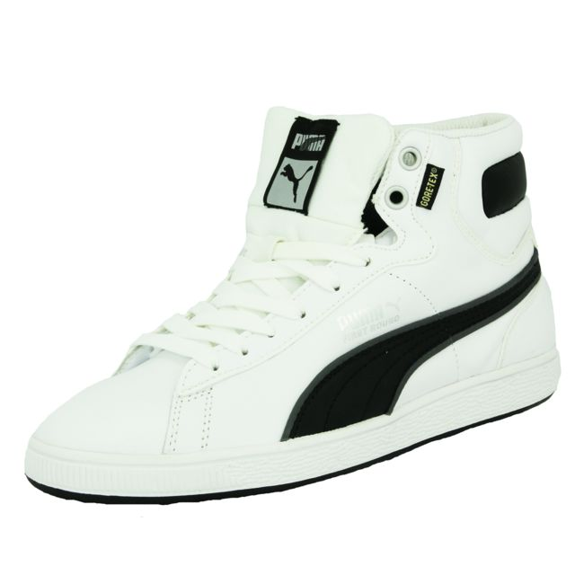 Puma L First Round Tex Chaussures Mode Gore Sneakers Cuir Homme ARjc3Lq54