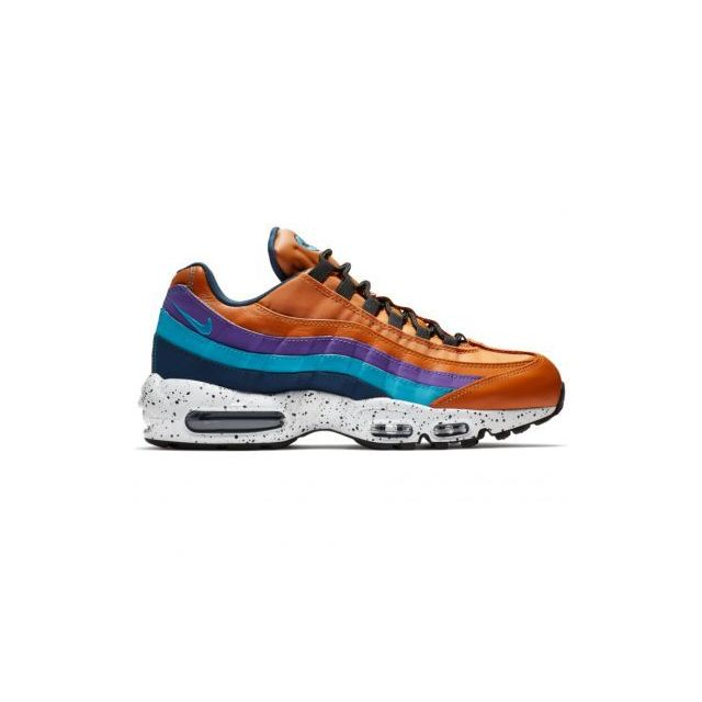 acaa20af7372b Nike - basket Air Max 95 Premium - 538416-800 - Age - Adulte, Couleur -  Orange, Genre - Homme, Taille - 39 - pas cher Achat   Vente Baskets homme -  ...