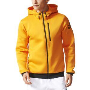 veste adidas homme a capuche orange