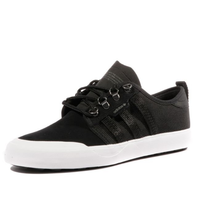 best sneakers 39ddc f7991 Adidas - Seeley Outdoor Homme Chaussures Skateboard Noir Adidas Noir 46 2 3