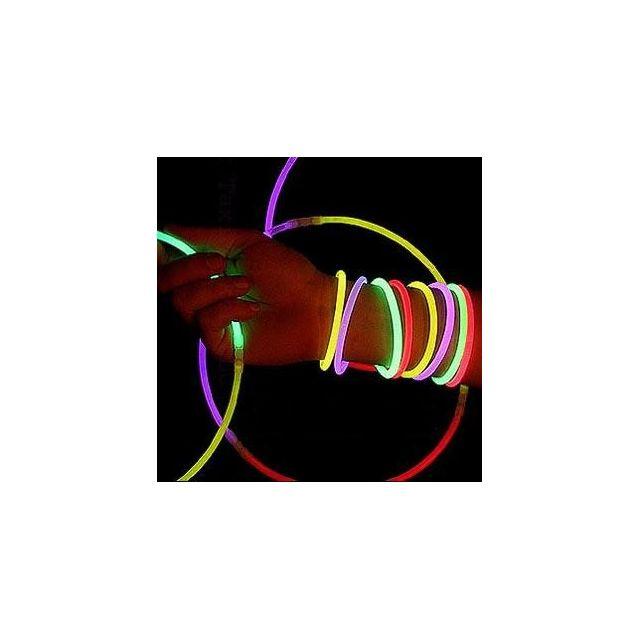 Touslescadeaux 15 Batons lumineux - Pour bracelets, colliers