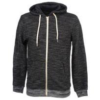 BLEND - Vestes sweats zippés capuche Jorsum charcoal fz cap sw Gris 24053
