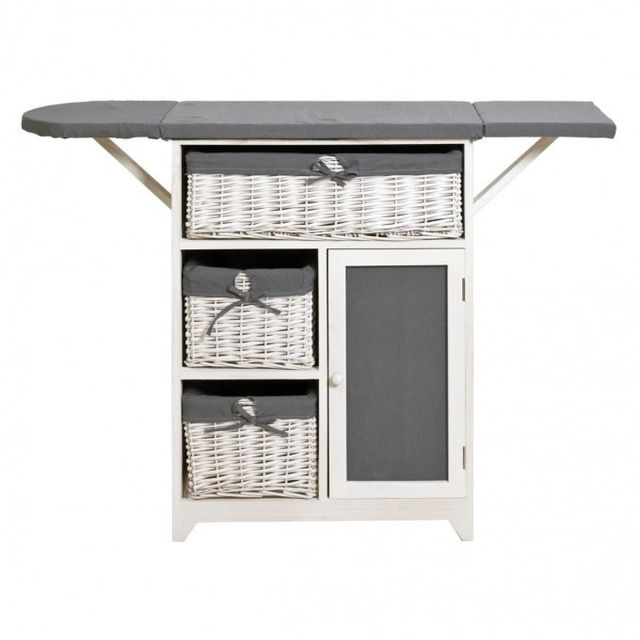 Mobili rebecca meuble de rangement table repasser 3 - Mobile stiro ikea ...