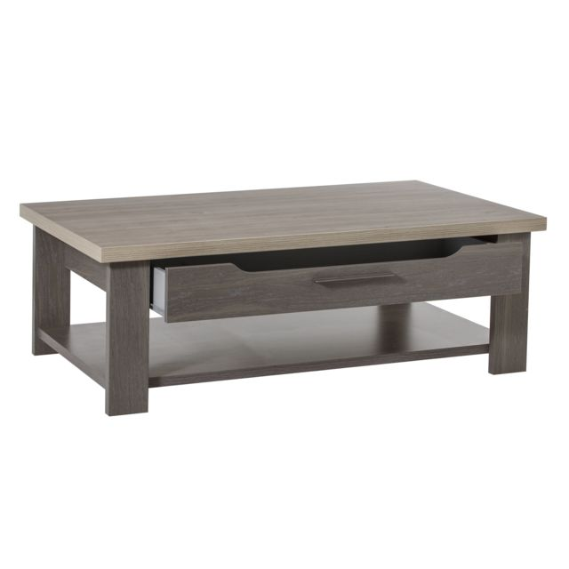 GAMI Table basse toscane chêne