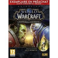 Blizzard - PC World of Warcraft : Battle for Azeroth - Préachat
