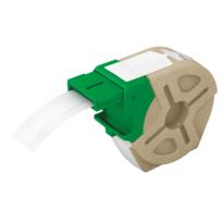 Leitz - Étiquettes plastiques - adhésif permanent - L, 12 mm x l, 10 m - blanc