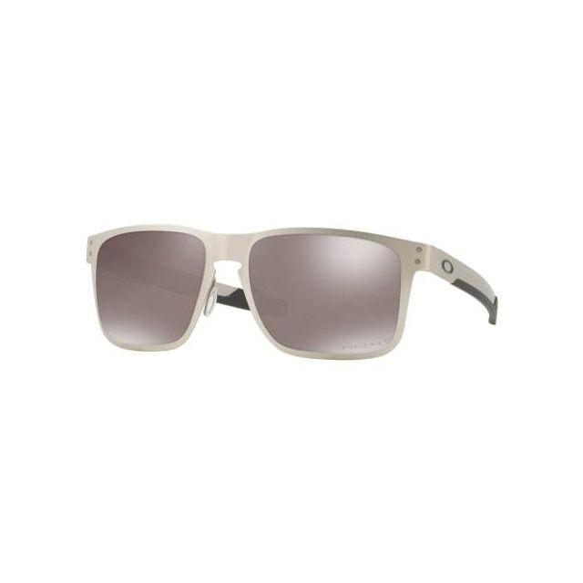 d97203e4b31adc Oakley - Lunettes Holbrook O Metal Satin Chrome avec verres Prizm Black  Polarized - pas cher Achat   Vente Lunettes - RueDuCommerce