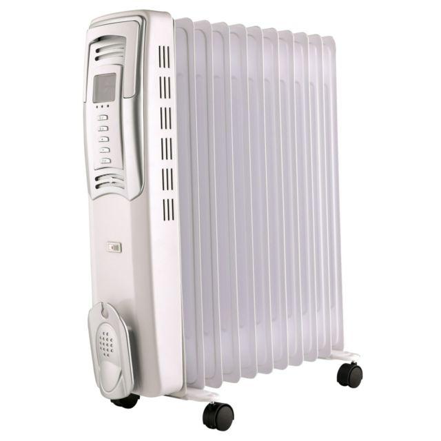 Radiateur électrique Bain Dhuile 2500w