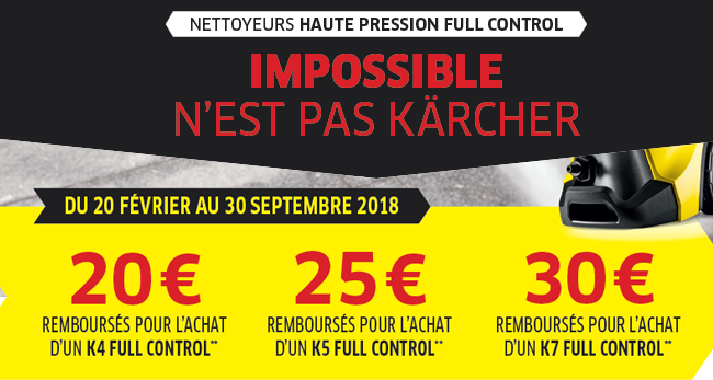 karcher nettoyeur haute pression k7 premium full control home kit pas cher achat vente. Black Bedroom Furniture Sets. Home Design Ideas