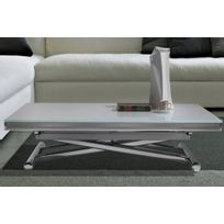 Table basse verre roulettes achat table basse verre - Table basse relevable a rallonge ...