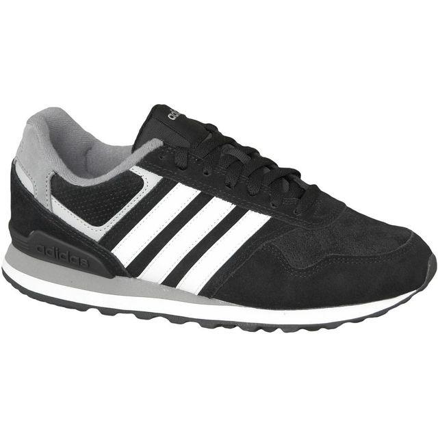 Adidas Runeo 10K Aw4678 Homme Baskets Noir pas cher