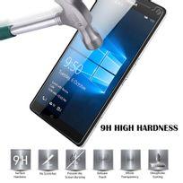 Cabling - Film Protection d'écran en verre trempé pour Microsoft Lumia 950 Xl Transparent