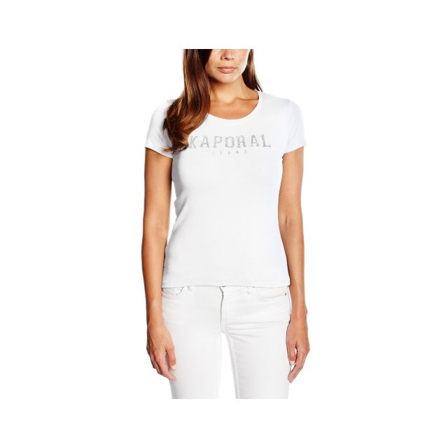 low price sale where can i buy utterly stylish Kaporal 5 - Kaporal - T Shirt Manches Courtes - Femme - Pick ...