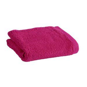 Marque generique serviette de toilette en coton fushia for Linge de bain marque