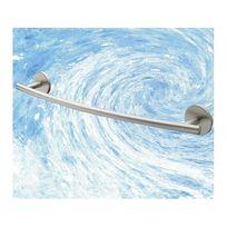 Planetebain - Porte serviette barre fixe de 46 cm en Zamack