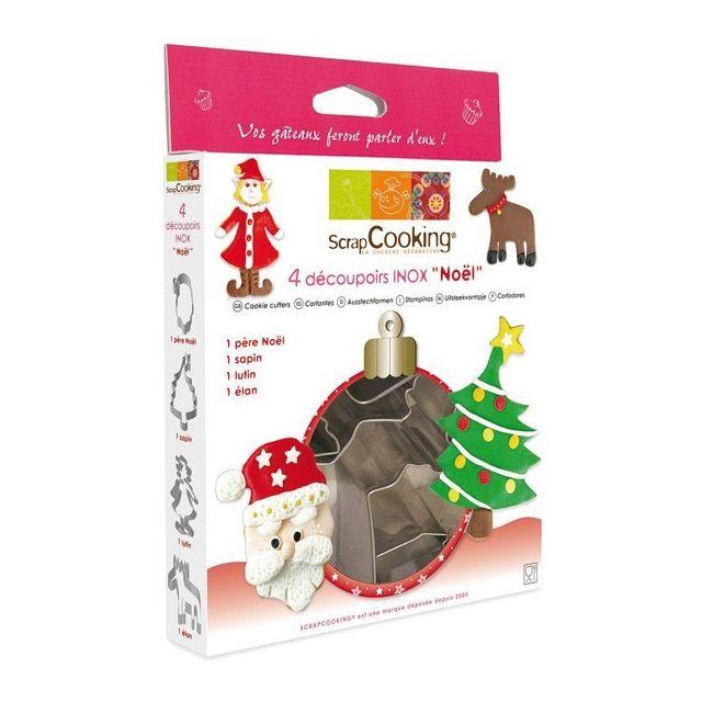 Scrapcooking Emporte-pièces gâteaux de Noël