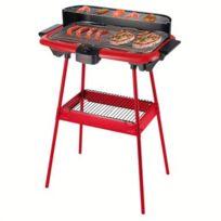 BE NOMAD - Barbecue électrique sur pieds rouge DOM297R