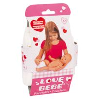 LOVE BEBE - Ensemble 3 couches