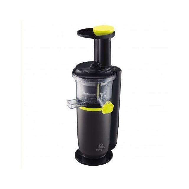 mandine extracteur de jus msj01 17 noir jaune pas. Black Bedroom Furniture Sets. Home Design Ideas