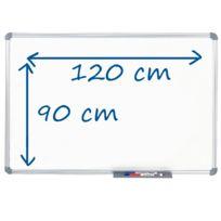 Hebel - Tableau blanc magnétique Office - laqué - 120 x 90 cm