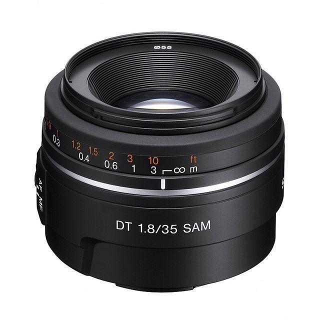 Sony Objectif Sal Dt 35 mm f/1.8 Sam Garanti 2 ans