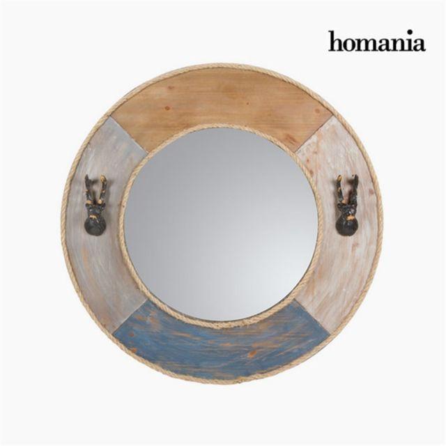 Homania Miroir rond en métal by