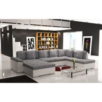 canape angle 7 places achat canape angle 7 places pas cher rue du commerce. Black Bedroom Furniture Sets. Home Design Ideas