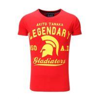 Akito Tanaka - Tee shirt Gladiateur Rouge