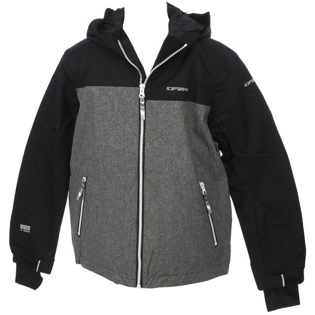 41255 de noir Harry jacket ski jr Blouson Noir Ice Peak Icepeak vTfggq