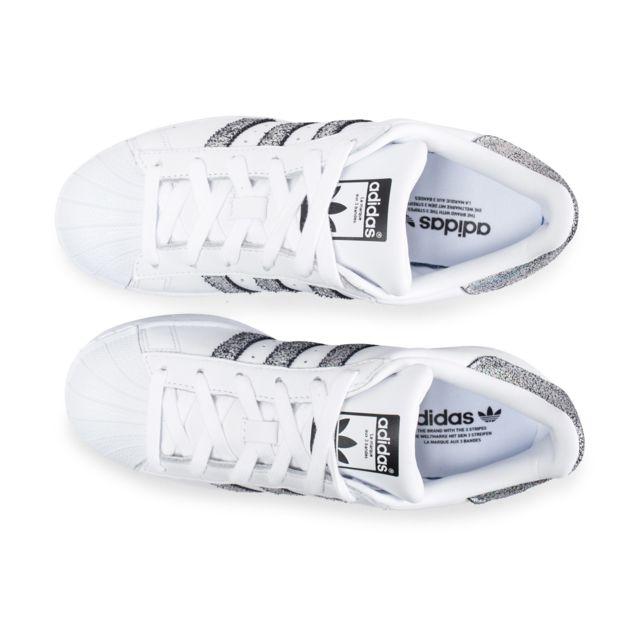 Adidas originals Superstar Holographique Blanche Et