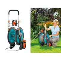 Marque : Gardena - Enrouleur de tuyau sur roues portable 100 Hg Classic Gardena