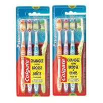 Colgate - Brosse à Dents Extra Clean Medium Lot de 2