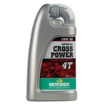 Motorex - Huile moto Cross Power 4T 1L classic
