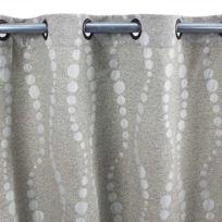 Mon Beau Tapis - Rideau Perles 140x260 gris