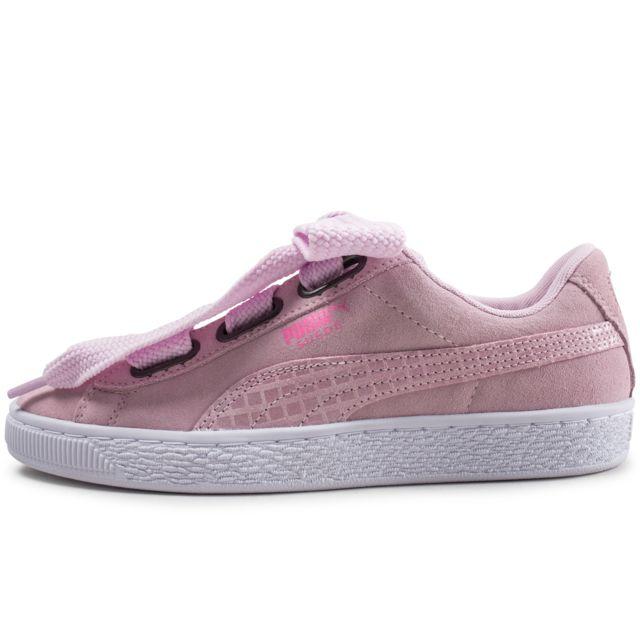 chaussures puma suede femme pas cher