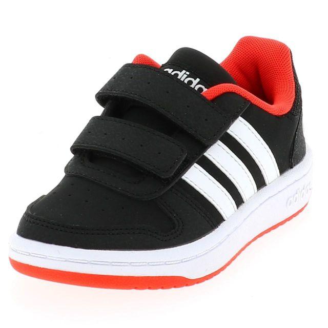 Adidas Chaussures scratch Hoops 2.0 cad nrrg Noir 41824