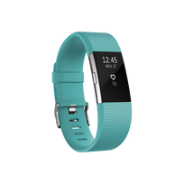 FITBIT - Charge 2 Turquoise / Argent L