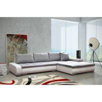 Rocambolesk - Canapé Rivoli blanc gris sofa divan