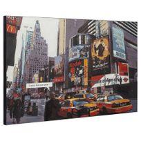 Techneb - Toile décorative Times Square