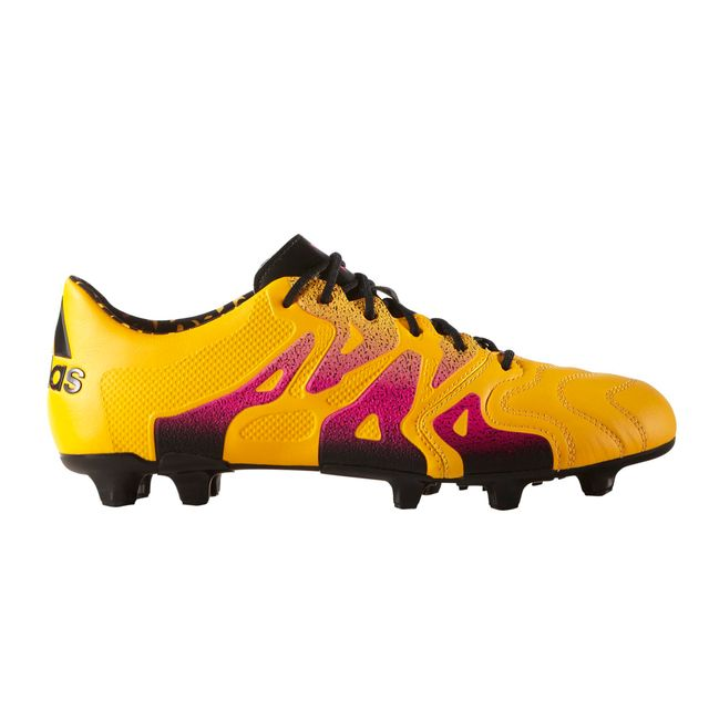 Adidas performance - Chaussures football Adidas X15.1 Fg ag Cuir Orange 341a8d7d8c9a9