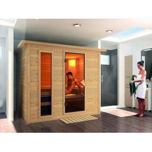 Karibu vigipiscine sauna vapeur tradition sonara avec for Vigipiscine